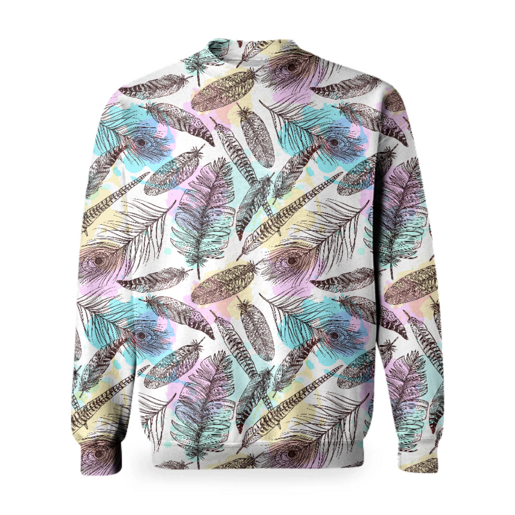 Tribal Pastels Basic Sweatshirt
