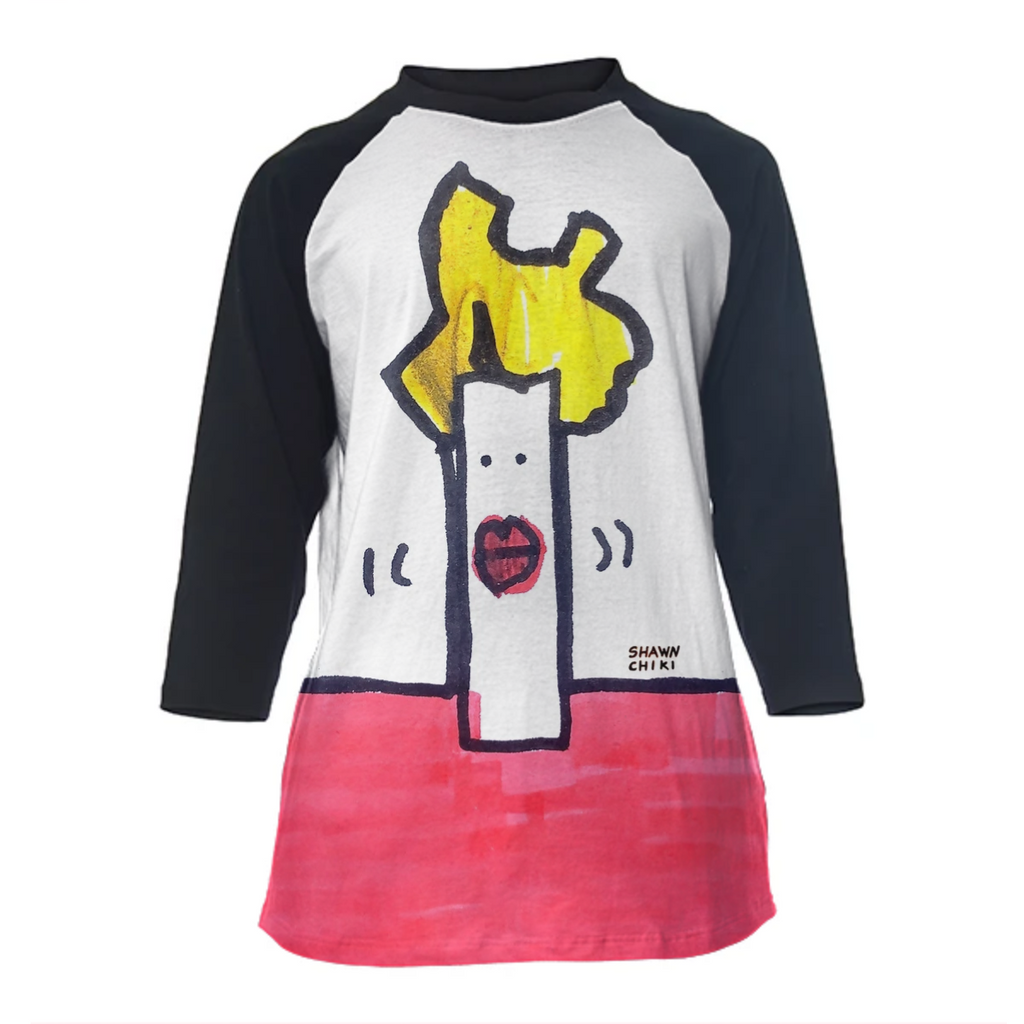 Japan Yellow Hair Baseball Shirt