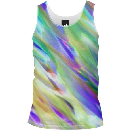 Colorful digital art splashing G401 TANK TOP MEN