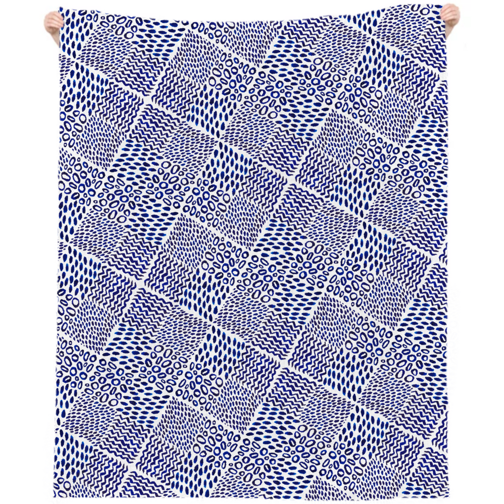 ultramarine tile blanket