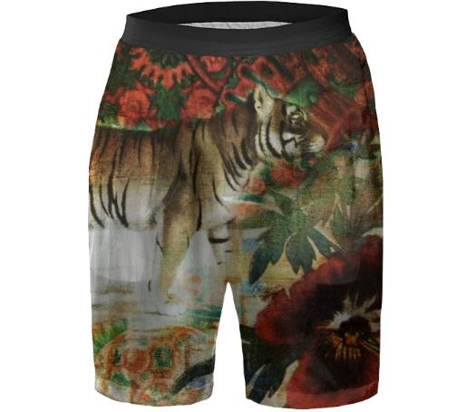 TRACY PORTER FEMME SILK BOXER SHORTS
