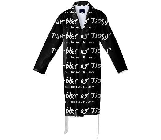 Tumbler and Tipsy Logo Bath Robe