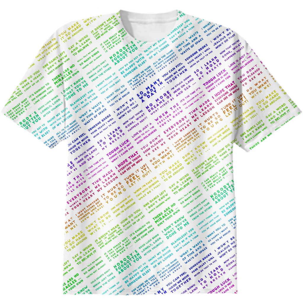 BLBL4 lyrics tshirt