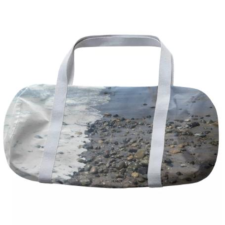 Beach Rocks Duffle Bag