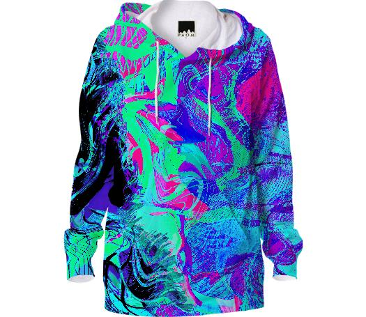 Kandi Flip Abstract Hoodie