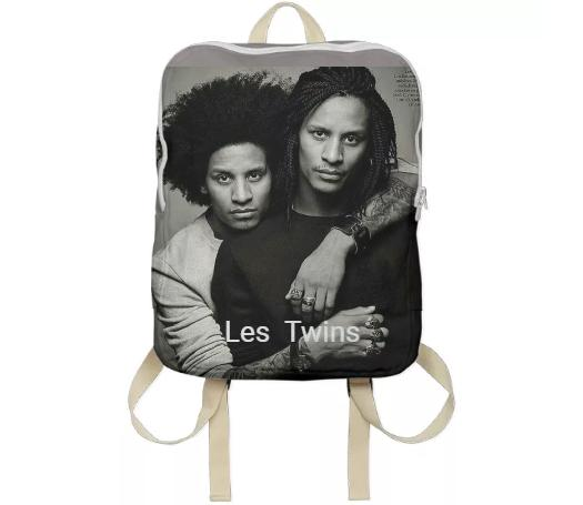 les twins backpack