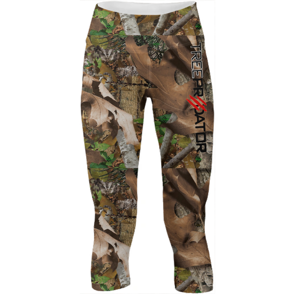 TREE PREDATOR CAMO yoga pants