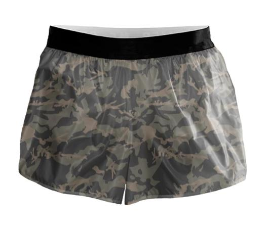 Camo Running Shorts RS00003
