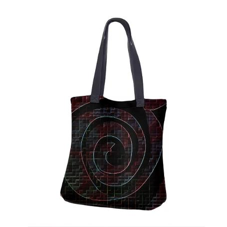Dark Void Neoprene Tote Bag
