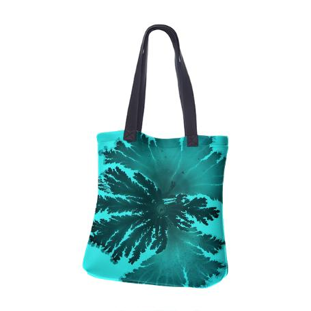 PAOM, Print All Over Me, digital print, design, fashion, style, collaboration, daninolab, Neoprene Tote Bag, Neoprene-Tote-Bag, NeopreneToteBag, Bacteria, autumn winter spring summer, unisex, Neoprene, Bags