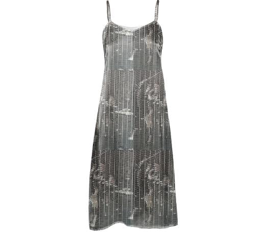 GRLZ SLIP DRESS in WEATHER