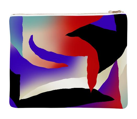 PAOM, Print All Over Me, digital print, design, fashion, style, collaboration, gambette, Neoprene Clutch, Neoprene-Clutch, NeopreneClutch, Aurore, autumn winter spring summer, unisex, Neoprene, Bags