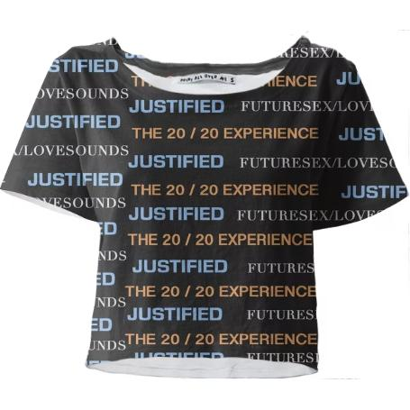 Justin Timberlake Crop Top