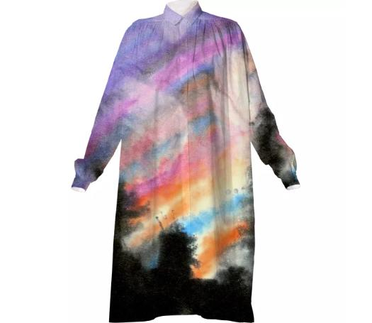 Nebulous Shirt Dress II