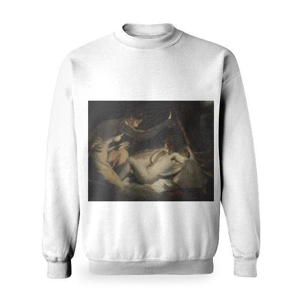 Cupid And Psyche Basic Sweatshirt