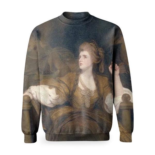 Mrs Siddons As The Tragic Muse Basic Sweatshirt