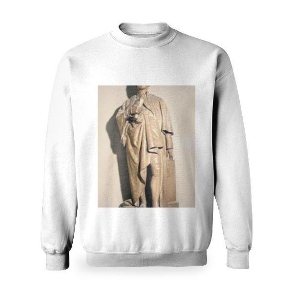 Model Of Statue Of Joshua Reynolds Basic Sweatshirt