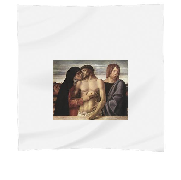 Dead Christ Supported By Mary And Saint John Evangelista Scarf