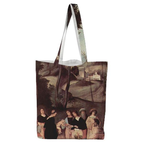 The Test Of Fire Of Moses Tote Bag
