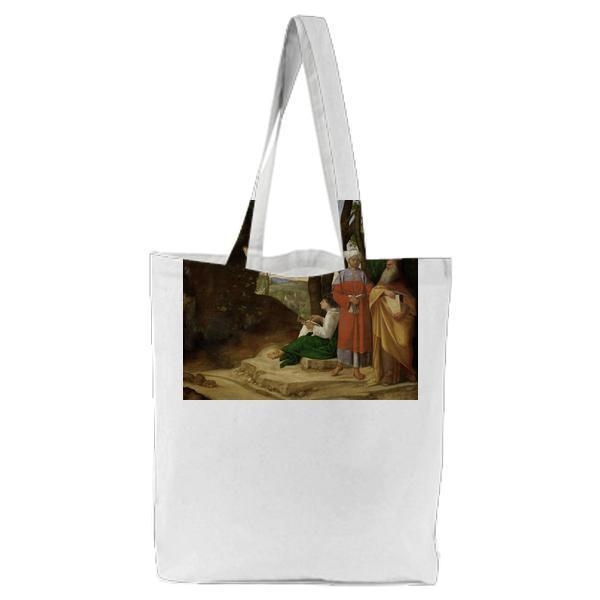 The Three Philosophers Tote Bag