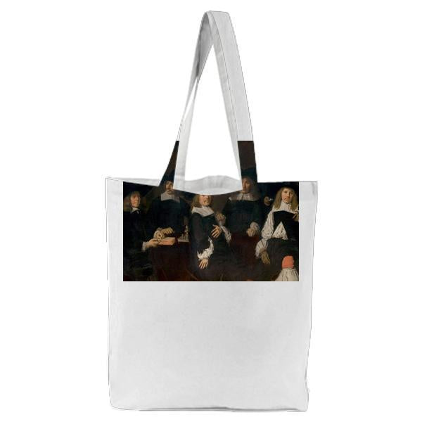 The Regents Of The Old Mens Home In Haarlem Tote Bag