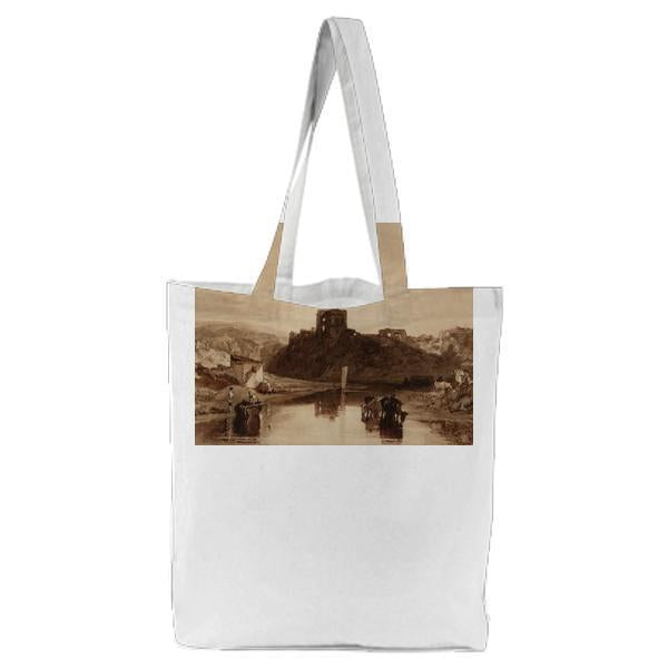 Norham Castle On The Tweed Tote Bag