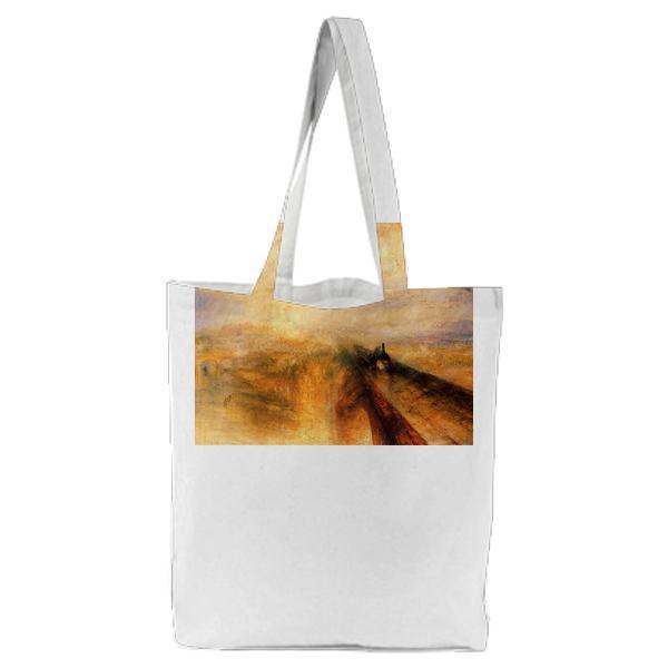 Rain Steam And Speed The Great Western Railway Tote Bag