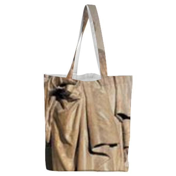 Model Of Statue Of Joshua Reynolds Tote Bag