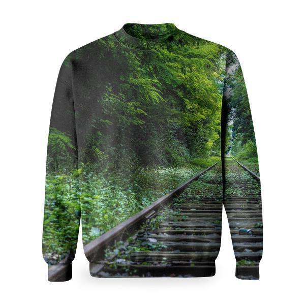 Nature Forest Industry Rails Basic Sweatshirt