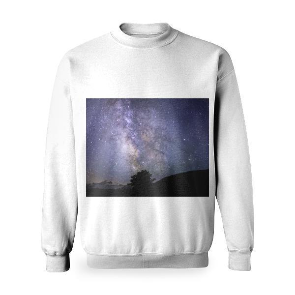 Constellation Photo Basic Sweatshirt