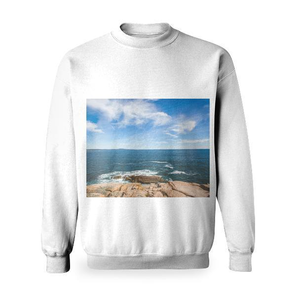 Sea Nature Sky Beach Basic Sweatshirt
