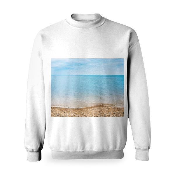 Clear Blue Ocean Basic Sweatshirt