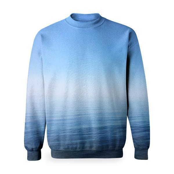 White Clouds Over Sea Basic Sweatshirt
