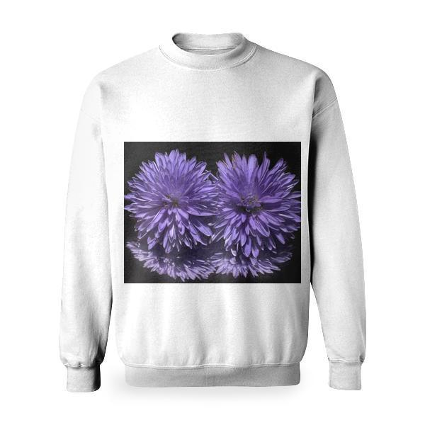 Yellow Flower Macro Photography Basic Sweatshirt