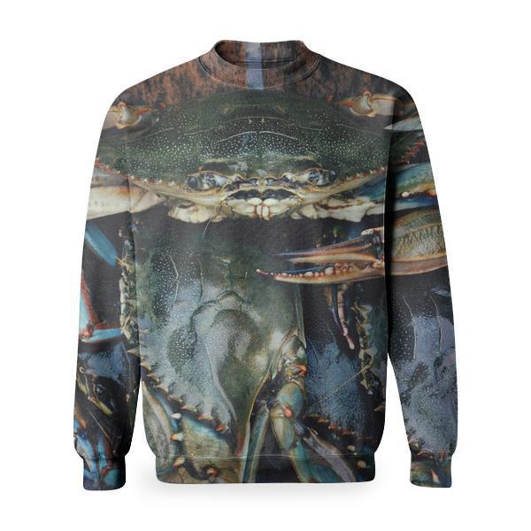Sea Nature Wildlife Food Basic Sweatshirt