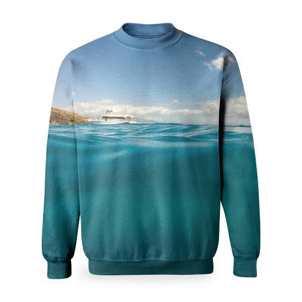 Sea Nature Sky Water Basic Sweatshirt