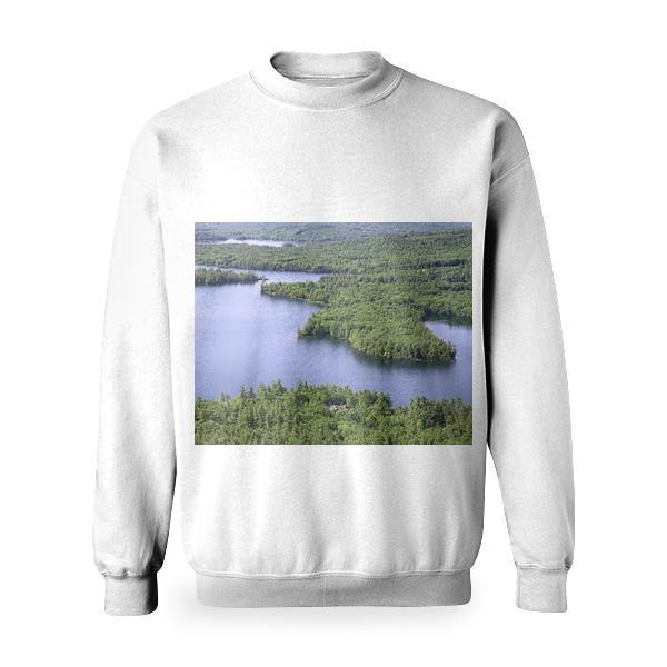 Landscape Nature Water Forest Basic Sweatshirt