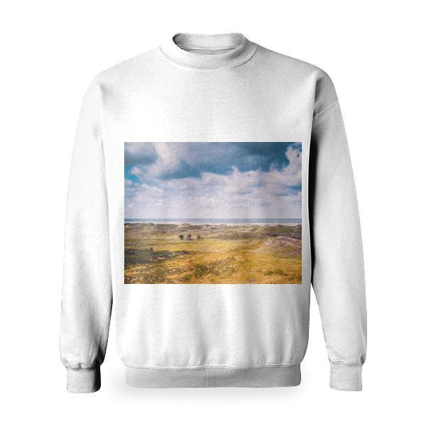 Sea Landscape Nature Sky Basic Sweatshirt