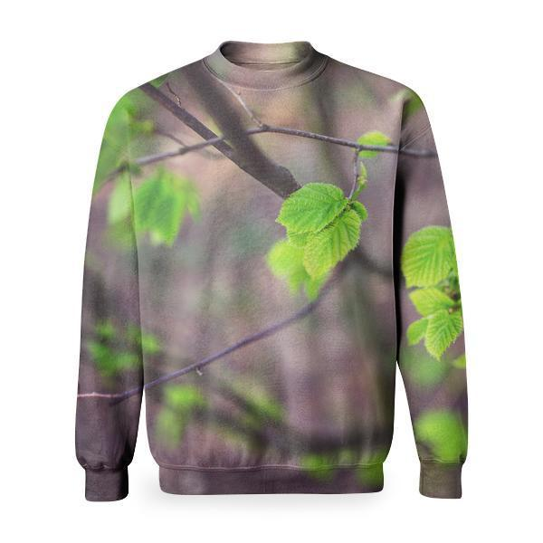 Young Little Leaves Basic Sweatshirt