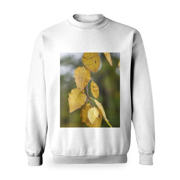 Yellow Leaf Basic Sweatshirt