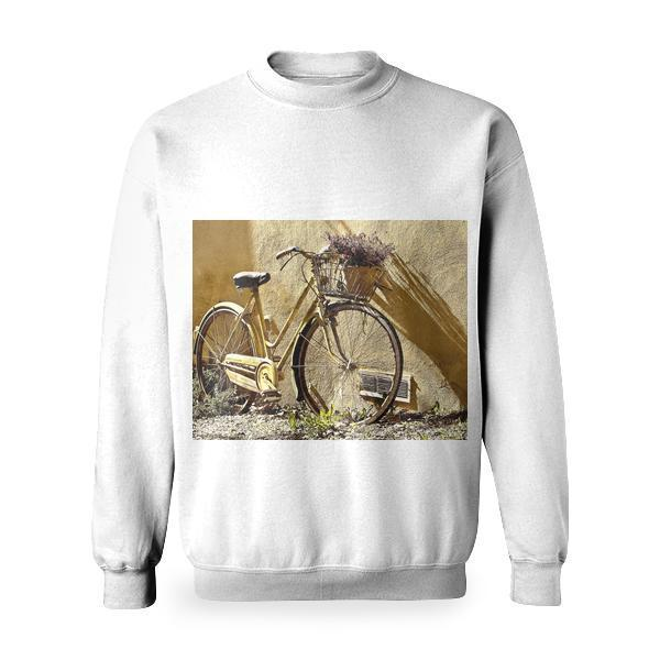 Yellow Mamachari Bike Basic Sweatshirt