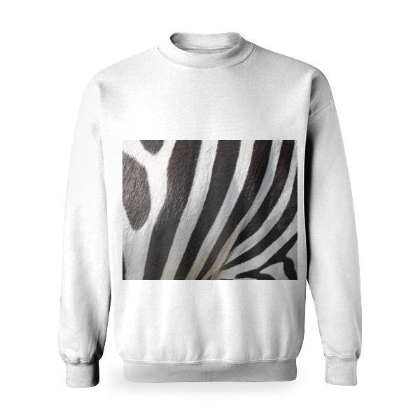 Zebra Fur Basic Sweatshirt