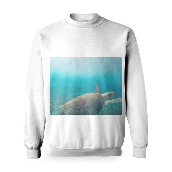 Sea Water Ocean Animal Basic Sweatshirt