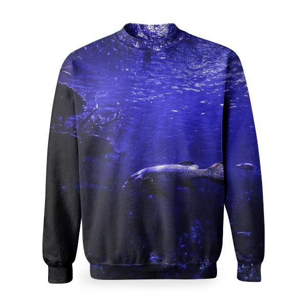 Sea Water Ocean Dark Basic Sweatshirt