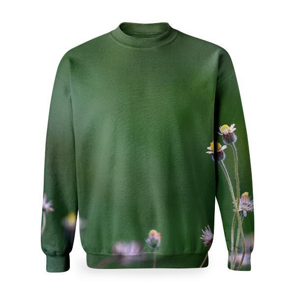 Yellow Petaled Flower Blooming During Daytime Basic Sweatshirt