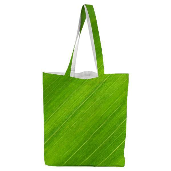 Green Textile Tote Bag