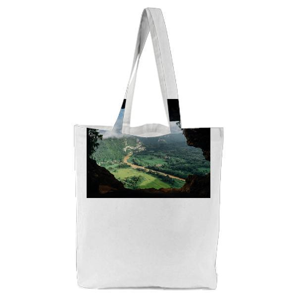 Nature Cave Lookout Tote Bag