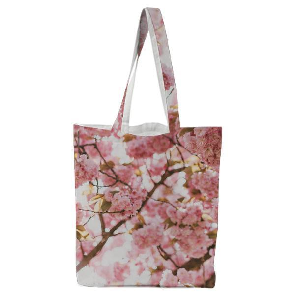 Nature Flowers Plant Tree Tote Bag