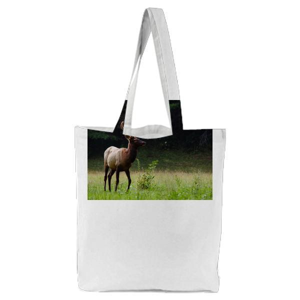 Landscape Nature Field Forest Tote Bag
