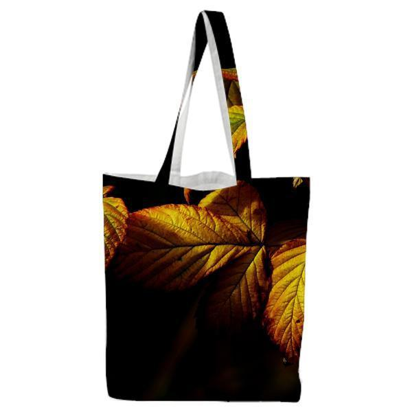 Nature Plant Leaves Autumn Tote Bag